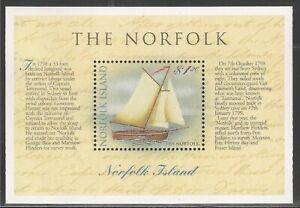 Norfolk Island #664 (A158) S/S VF MNH - 1998 $1.20 The Norfolk