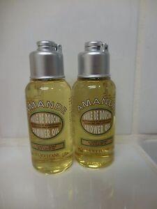 L'occitane Shower Oil 2.5 Fl Oz Set Of 2 NEW
