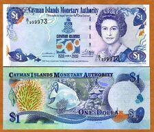 Cayman Islands, $1, 2003, P-30, QEII, UNC > Commemorative