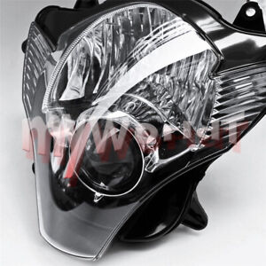 Headlight Assembly Headlamp Light Fit for Suzuki GSXR600 GSXR750 K6 2006-2007