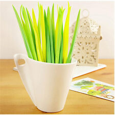 12pcs Grass Leaf Grass-Blade Pen Stationery Sign Pen Great  Decoration Lovely