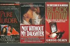 True Crime ~(3pb)- Black Widow + Not Without My Daughter + Pure Murder