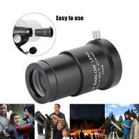 "Outdoor Metal 3X Barlow Lens 1.25"" 31.7mm Astronomical Telescope Eyepiece SP"