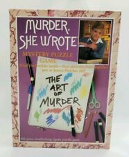 Jigsaw Puzzle 550 PC The Art of Murder She Wrote Mystery Game