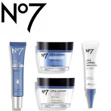 No7 Lift & Luminate Triple Action DAY-NIGHT-EYE Cream + Serum