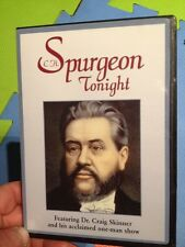 C.H. Spurgeon Tonight-Evangelical Preacher(UK DVD)Dr.Craig Skinner One Man Show