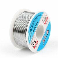1.0mm 100g 60/40 Rosin Core Tin Estaño Soldar Wire Soldadura Welding Flux 2.0%