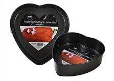 Mignon charnière en forme de cœur Moule à gâteau avec acier anti adhésif bords