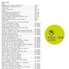 Aphex Twin - Syro VINYL LP