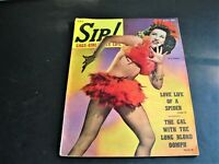 Vintage- August 1943- SIR! Magazine – Gags-Girls-Nite Life -MEN'S INTEREST.