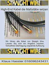 Straight Wire Symphony II 0,75m Neu NF Cinch-Kabel