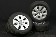Orig. Audi A6 4G 16 Zoll Alufelgen 7mm Sommerreifen 225 60 R16 ALU Kompletträder