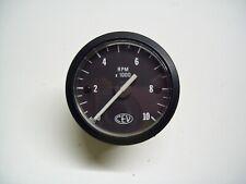 Tachometer 6 Volt. 4 Poles - Original Replacement Part CEV For Mopeds D' Old