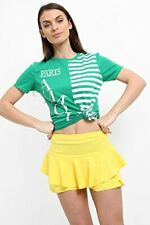 SALE BOXING DAY Ladies Striped Amour Paris Slogan Printed T Shirt UK Size 8-14