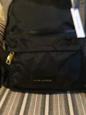 NWT MARC JACOBS Nylon Varsity Mini Backpack in Black M0013945 - 001 MSRP $225