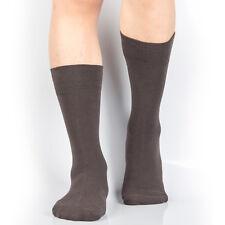 LOT 4,8 or 12 Pairs Mens Crew Calf Socks Dress Cotton/Nylon Shoe Size 7-12  2216