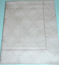 Sferra BRUNI Boudoir Sham LILAC ASH Egyptian Cotton Sateen Geometric Italy New