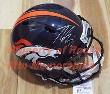 TREVOR SIEMIAN Signed/Autographed Broncos Revolution Replica Speed  Helmet SALE!