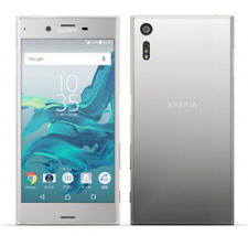 DOCOMO SONY SO-01J  SILVER XPERIA XZ ANDROID PHONE SMARTPHONE UNLOCKED JAPAN NEW