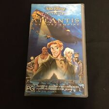 ATLANTIS THE LOST EMPIRE VHS VIDEO