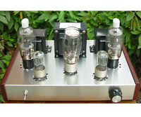 DIY kit FU25+ 6N8P Class A vacuum tube amplifier kit tube AMP 10W+10W