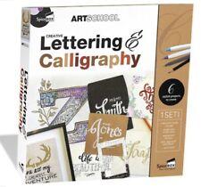 New Creative Lettering & Calligraphy Spice Box Art School Kit