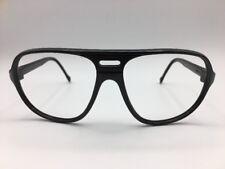 BOLLE IREX 100 Black Aviator Sunglasses Frames Only No Lenses Light Weight Frame