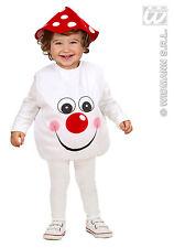 2 pièces. AGARIC DE MOUCHE Costume,petits enfants gr. 80-86. 1-2 Jahre,Carnaval