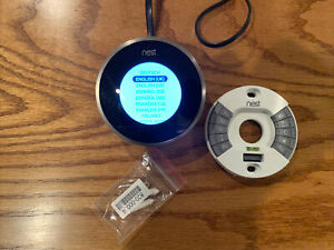 Nest Stainless Steel Thermostat 2nd Generation