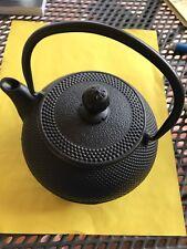 Classic Cast Iron Teapot 18 Ounces Black Japanese Iron Pot Tetsubin Teakettle