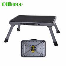 Lightweight Step Stool Folding Steel Step Up Platform Home Use Portable Ladder