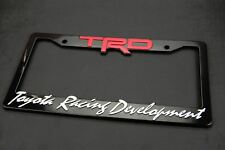 3D Abs Molded Trd License Plate Tag Frame Front/Rear For All Toyota Scion Lexus