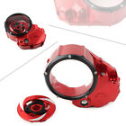 CNC Motorcycle Clear Clutch Cover Protector Guard for Ducati X-Diavel 2019-20