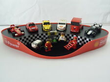 New Lego Shell Ferrari Garage Display Ferrari 250 GT Berlinetta 450 Italia F1