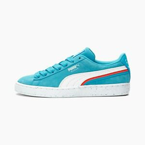 PUMA CLYDE KOOL-AID BLUE/White Men's USA Size 14 - NEW IN BOX