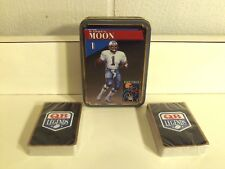 Qb Legends Warren Moon Playing Cards with Collectible Tin