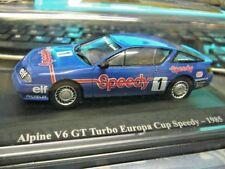 Renault alpine v6 GT Racing 1985 sp viajes auto Cup precio especial Ixo Altaya 1:43