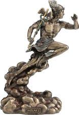 Greek Mythology God Hermes / Mercury Bronze Statue Decorative Figurine 22 cm