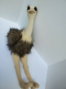"DAKIN Oona OSTRICH Bendable Legs Neck STUFFED ANIMAL Plush 24"" Applause"