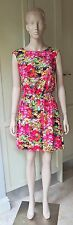 American Apparel CUT-OUT SCHOOL GIRL Floral DRESS Backless Casual Size-M/L