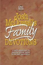 The One Year Book of Josh McDowell's Family Devotions: A Daily Devotional for Pa