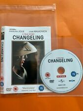 Changeling (DVD, 2009)  No Case Disc & Cover only FREE POST