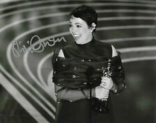 Olivia Colman Signed 10x8 Autograph Photo - The Favourite - Broadchurch - Crown