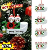 Merry Christmas 2020 Family Santa Claus Home Party Hanging Ornaments Gift