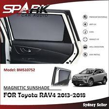C MAGNETIC CAR WINDOW SUN SHADE BLIND MESH REAR DOOR FOR TOYOTA RAV-4 RAV4 2013+