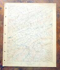 1911 Abingdon Virginia North Carolina Antique USGS Topo Map Marion Topographical