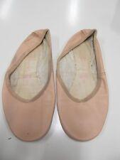 Turn,- Ballett,- Bauchtanz,- Gymnastikschuhe Schläppchen Gr. 6 nude getragen