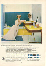 "original large colour advert ""  formica vanitory : pretty lady  "" 1961"