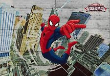Papel pintado Fotomural SPIDERMAN HEROE decoración pared para niños y Spider-Man