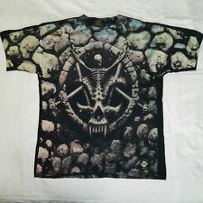 vintage SLAYER Shirt DIVINE INTERVENTION tshirt NOS ALLOVER PRINT 90s 1994